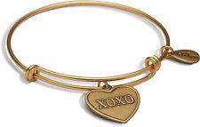 Bella Ryann 22K Gold-Plated XOXO Heart Charm Bracelet