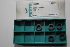 Fette Carbide Insert - RDHW 1003M0  ( LC240T ) 5 INSERTS ONLY
