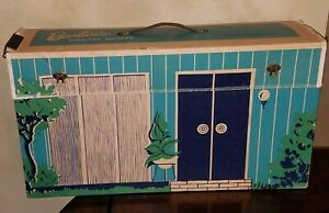 Vintage Original RARE 1962 BARBIE'S DREAM HOUSE, w/ Accessories & Furniture