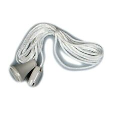 Replacement white nylon pull cord for pull switch new