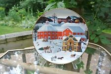 Christmas On The Farm Plate Martha B. Leone Celebration of Yesteryear