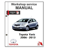 Toyota Yaris 2006 - 2013 Manual De Taller De Servicio Manual Reparación, diagram