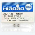 HIROBO 2521-123 COLLAR 4 X 5 X 4.3 F7 X 0.4 #2521123 HELICOPTER PARTS