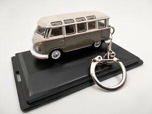 porte clé Volkswagen bus combi T1 samba en métal, neuf idée cadeau