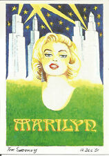 Why Not Try Moderns Limited Edition Postcard No.40 1992 Marilyn Monroe U4881