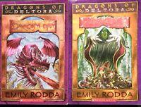 Dragons Of Deltora Books 1 and 2 Dragon's Nest Shadow Gate Emily Rodda Paperback