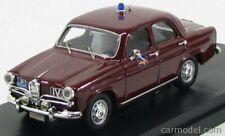 Rio-models 1964/1 scala 1/43 alfa romeo giulietta 50th anniversary polizia
