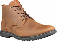 Timberland Men's Lafayette Cap Toe Chukka TB0A1U4A242 Dark Brown Full Grain