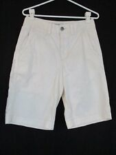 American Eagle Outfitter Women's White Shorts 100% Cotton Size 28 Classic Rise
