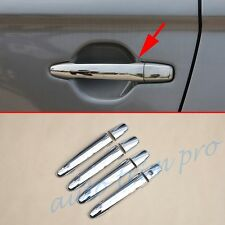Chrome Door handle Protect Moulding cover Trim For Outlander 2013-2017 Accessory