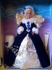 Winter princess barbie 1993 1er en série ltd ed NRFB