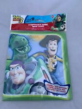 Toy Story 3 Book Cover Stretchable Fabric School Rex Woody Buzz Lightyear