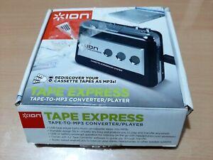 ION Audio Tape Express Lettore Portatile a Cassette/Mp3 e Convertitore Analogico