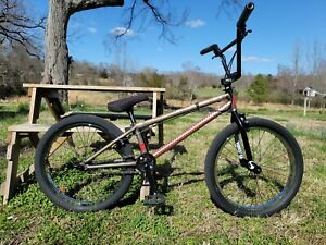 "INDUST 2 TON 22"" BMX COMPLETE, USA FRAME, PROFILE SHADOW ANIMAL S&M FIT PREMIUM"