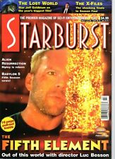 WoW! Starburst #227 The Fifth Element! The Lost World! Alien Resurrection! XFile