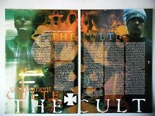 COUPURE DE PRESSE-CLIPPING :  THE CULT [4pages] 06/2001 Ian Astbury,Billy Duffy