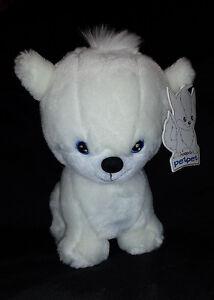 Doglefox Petpet Neopets White Stuffed Collectible Tag Plush Toy Limited Edition