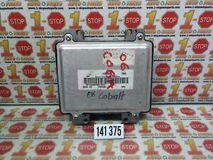 2006 06 CHEVROLET COBALT ENGINE COMPUTER MODULE ECU ECM 12603530 YNAA OEM