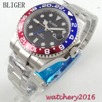 40mm Auto Date Sapphire glass GMT Automatic Movement Men's Watch