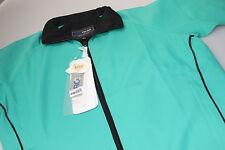 Proquip Jade Green Short Sleeved Liberty Wind Resist Golf Top + Teflon S 10/14