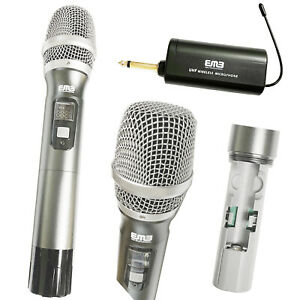 EMB EBM-41 1 Channel Wireless Handheld Microphone UHF with Rechargeable Receiver