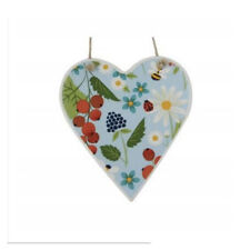 Heart Ceramic Modern Decorative Plaques & Signs