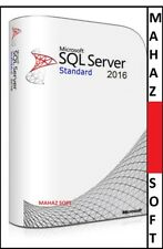 Microsoft SQL Server 2016 Standard Retail License Key Genuine+2 Cores+UNLIMITED