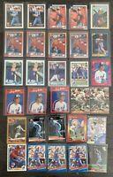 Larry Walker Baseball Card Lot 1990 Topps,Donruss,Fleer Rookies ++Expos Rockies