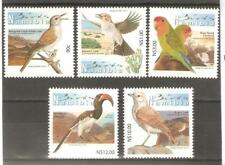 BIRDS BEAUTIFUL SETOF 5 NAMIBIA 2013 MNH (S.W.AFRICA)