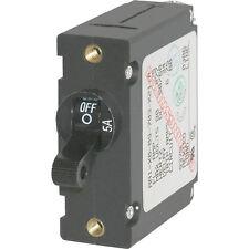 Blue Sea 7200 AC / DC Single Pole Magnetic World Circuit Breaker  -  5 Amp