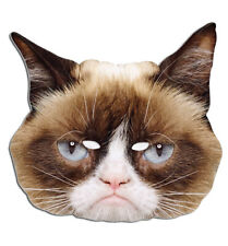 OFFICIEL Grumpy Cat Simple 2D carte fête Animal Masque Visage CHAT déguisement