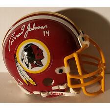 Brad Johnson Washington Redskins Autographed Mini Helmet w COA
