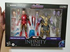 Marvel Legends Infinity Saga Iron Man Mark 85 & Battle Damage Thanos IN HAND!!!