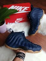 SIZE 8 MEN'S NIKE AIR FOAMPOSITE  ONE MIDNIGHT NAVY 314996 405 Basketball