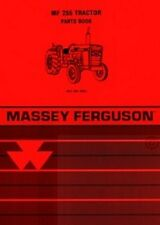 Massey Ferguson Mf 255 Tractor Parts Book Manual Mf255