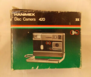 Hanimex 420 Disc Camera Boxed with Manuals Vintage