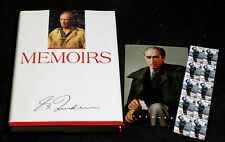 Memoirs – By Pierre Elliot Trudeau – Autographed – With Stamps