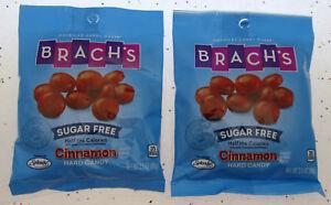 Brach's Sugar Free Cinnamon Hard Candy 3.5oz Bag ~ Lot of 2