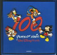 WDW - 100 Years of Magic 4 Pin Box Set Mickey, Minnie, Goofy & Donald Duck!