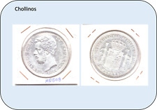 5 PESETAS AMADEO I  AÑO 1871 *18*71  SD.M ( MBC )  ( MB13018 )