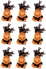 Anne Geddes BABY Adorable Black Orchid Scrapbook Stickers! 9 Sheets