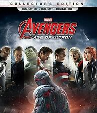 Marvel's Avengers: Age of Ultron [New Blu-ray 3D] With Blu-Ray, 2 Pack, Ac-3/D