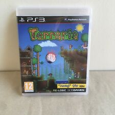 Terraria PS3 Game Sony PlayStation RPG Role Playing Adventure Free Postage Retro