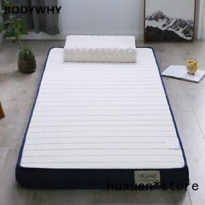 Latex and Memory Foam High-density Mattress Bed Foldable Mat Sofa Tatami New @