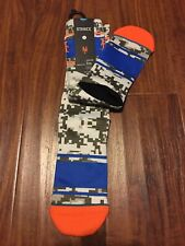 Stance BASEBALL Socks MEN Large 9-12 NY Mets 558 CREW Height 1Pair Cotton Combeb