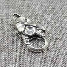 26mm disparador de estilo grande de plata esterlina joyas broche de captura de langosta