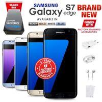 New Unlocked SAMSUNG Galaxy S7 Edge G935F Black White Gold Blue Android Phone