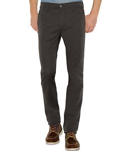 Genuine LEVIS Mens 511 Slim Fit Dark Grey Stretch Twill Jeans