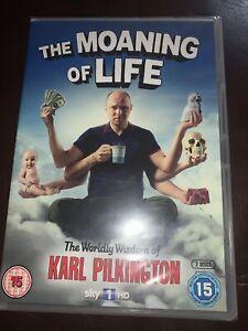 The Moaning of Life DVD (2013) Karl Pilkington cert 15 2 discs Brand new Sealed