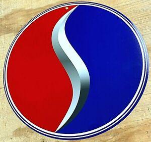"Studebaker Lazy S Logo Aluminum Metal Sign 12"""